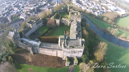 castle from air