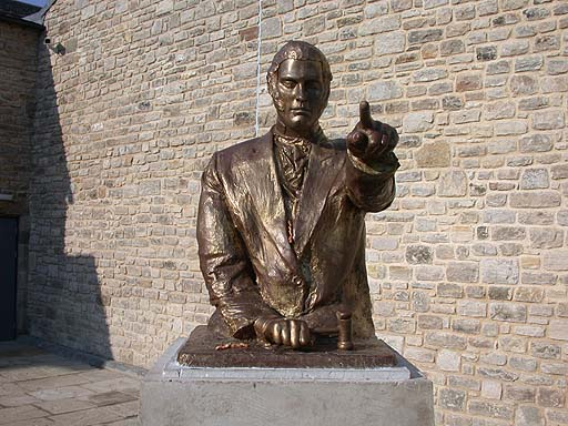 Statue of Robinson Mitchell