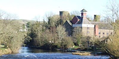 Cockermouth Brewery and castle